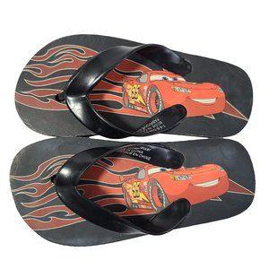 🍒3/$20🍒 CARS Lightning McQueen flip flops 7/8
